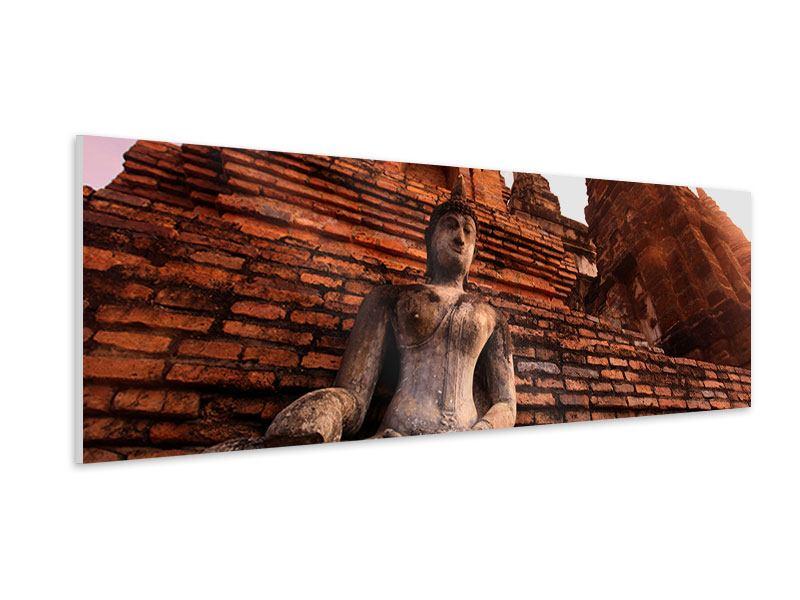 Hartschaumbild Panorama Sukhothai