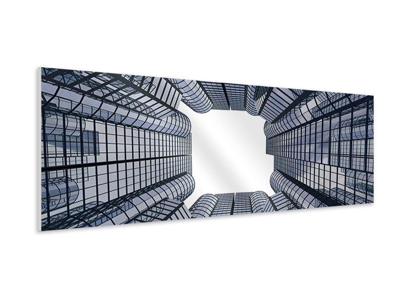 Hartschaumbild Panorama Besondere Perspektive