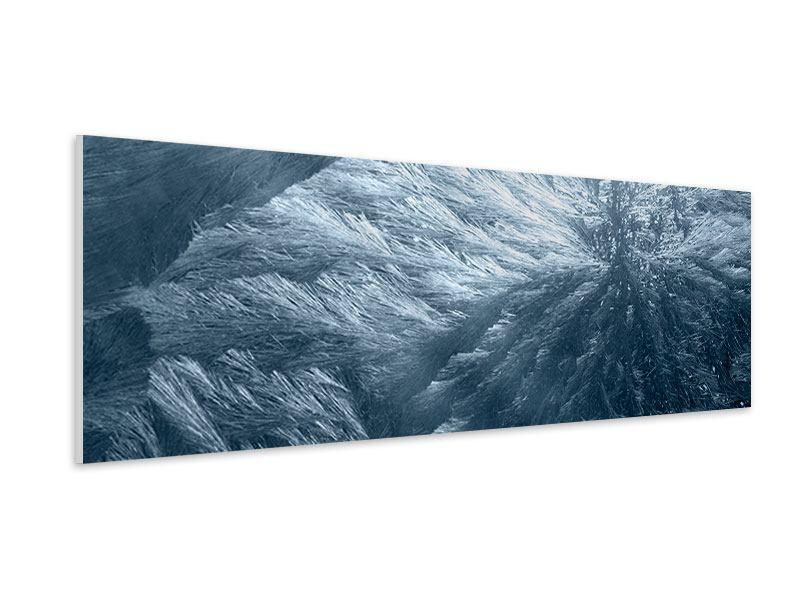 Hartschaumbild Panorama Eis