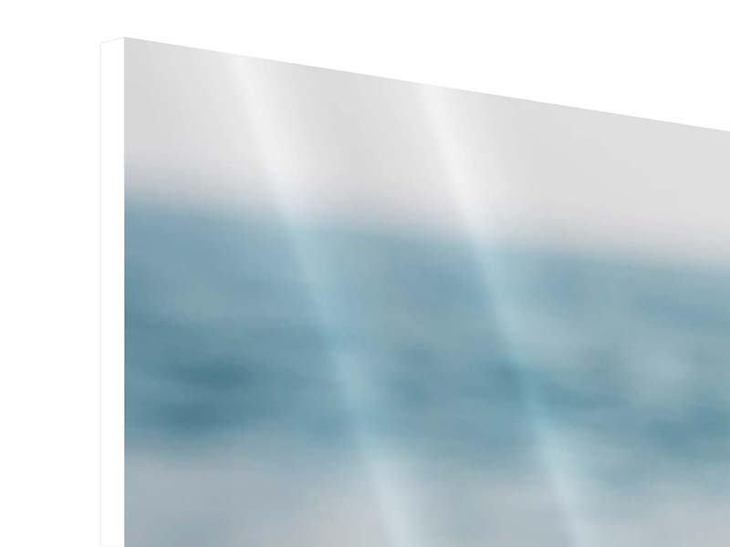 Hartschaumbild Panorama Die Muschel