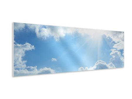 Hartschaumbild Panorama Himmelshoffnung
