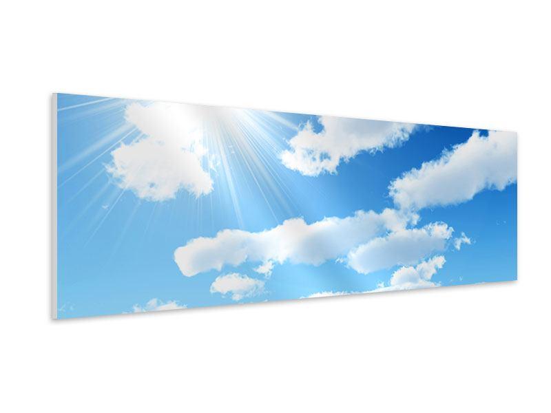Hartschaumbild Panorama Am Himmel