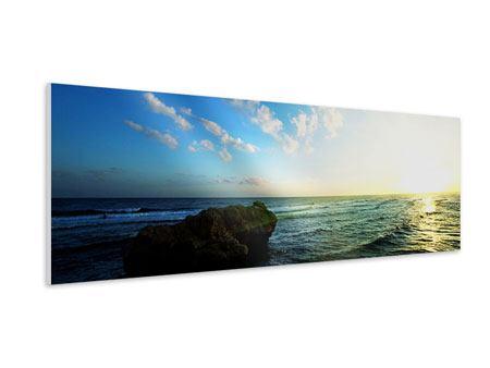 Hartschaumbild Panorama Die See