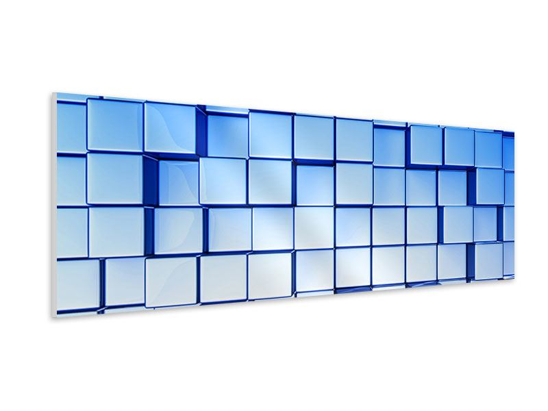Hartschaumbild Panorama 3D-Symetrie