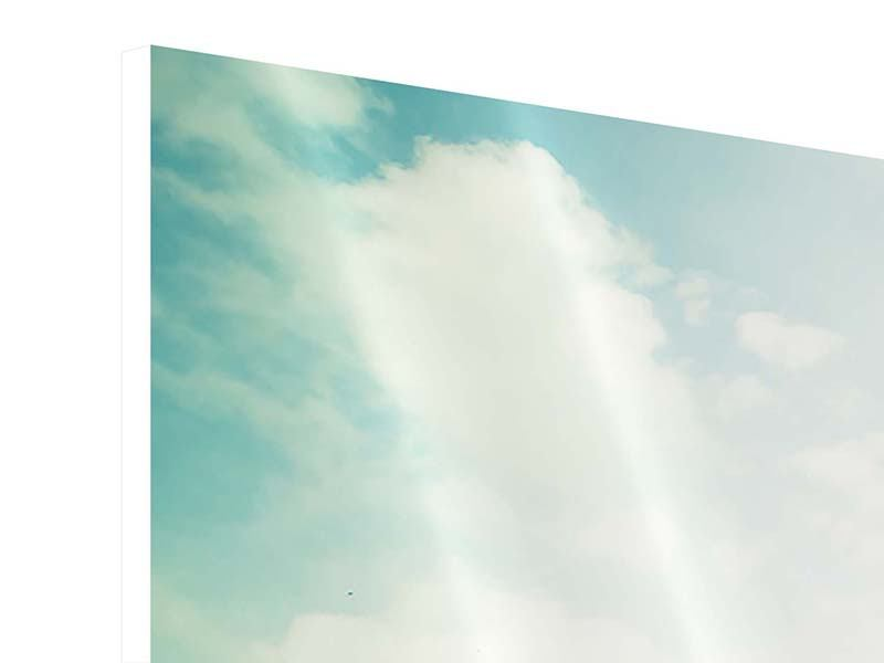 Hartschaumbild Panorama Tobago Cays