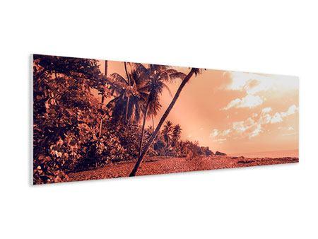 Hartschaumbild Panorama Tropenparadies