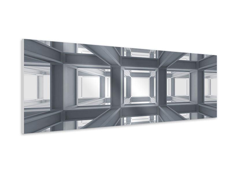 Hartschaumbild Panorama Räume