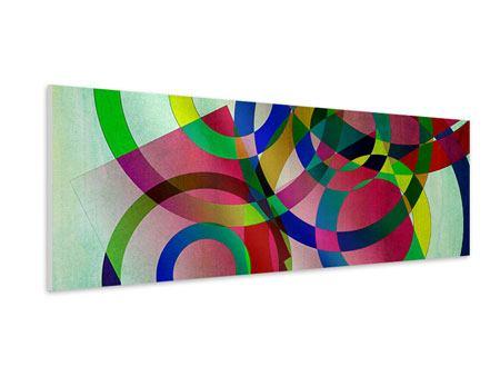 Hartschaumbild Panorama Wandkunst