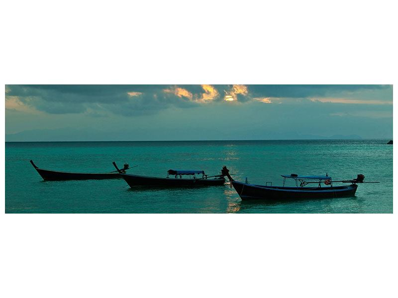Hartschaumbild Panorama Ozean