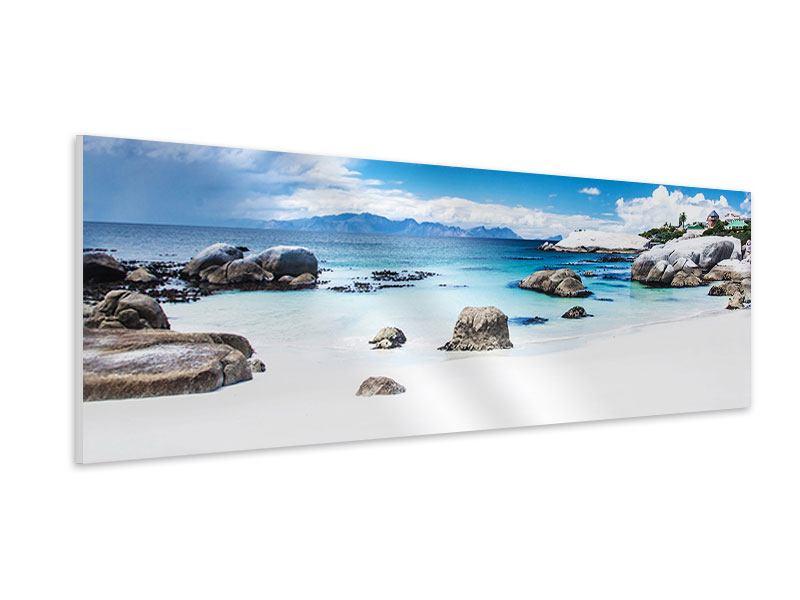 Hartschaumbild Panorama Inselfeeling