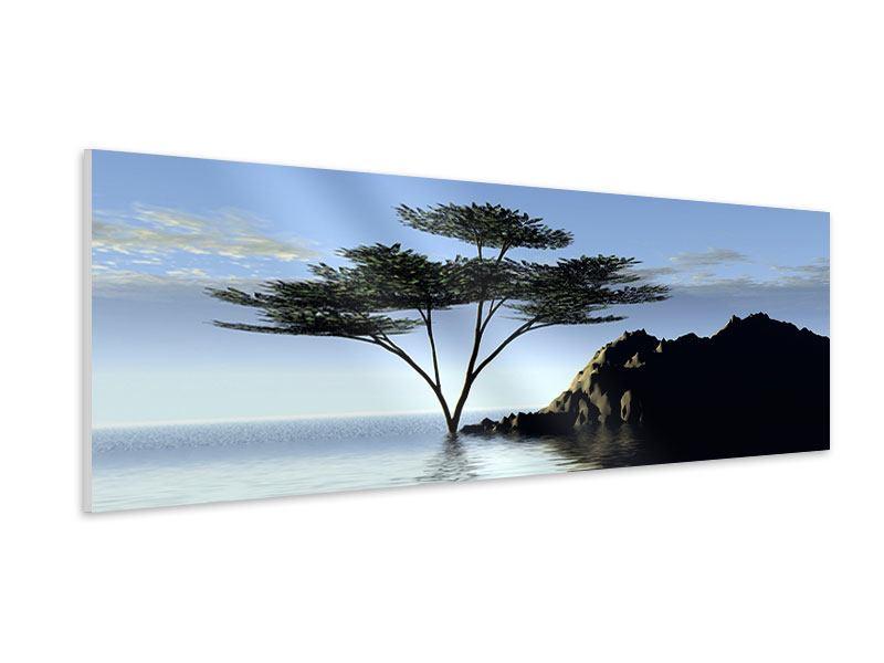 Hartschaumbild Panorama Naturfaszination