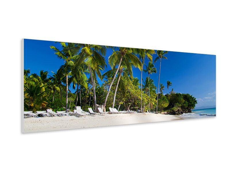 Hartschaumbild Panorama Aloha