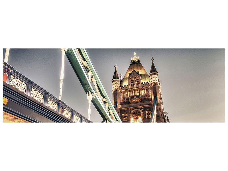 Hartschaumbild Panorama Tower Bridge XXL