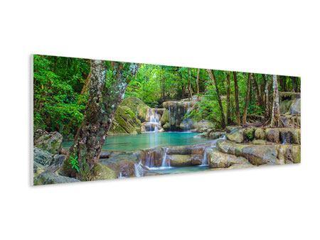 Hartschaumbild Panorama Wasserspektakel