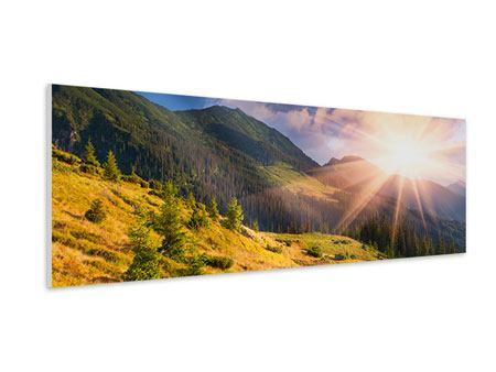 Hartschaumbild Panorama Herbstanfang