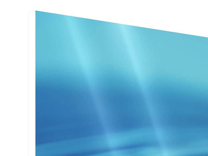 Hartschaumbild Panorama Der Wassertropfen