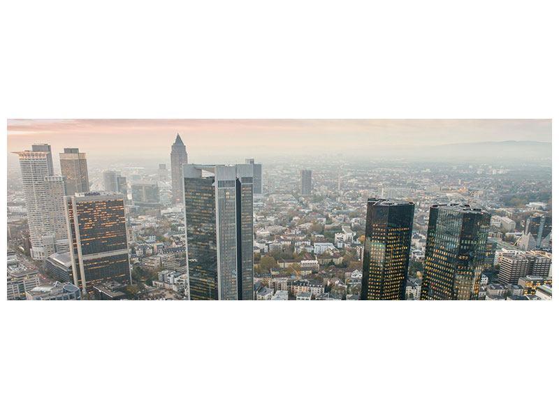 Hartschaumbild Panorama Skyline Penthouse in New York