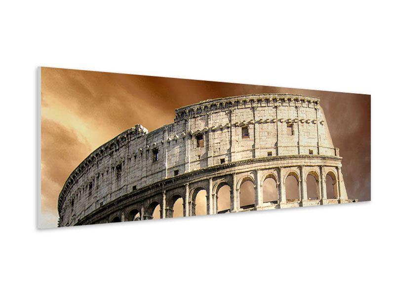 Hartschaumbild Panorama Kolosseum Rom
