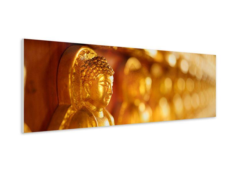 Hartschaumbild Panorama Buddhas