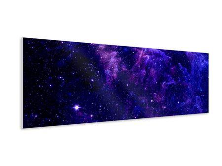 Hartschaumbild Panorama Ein Himmel voll Sterne