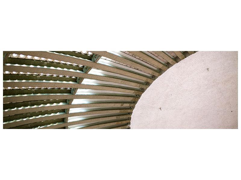 Hartschaumbild Panorama Abstraktes Rad