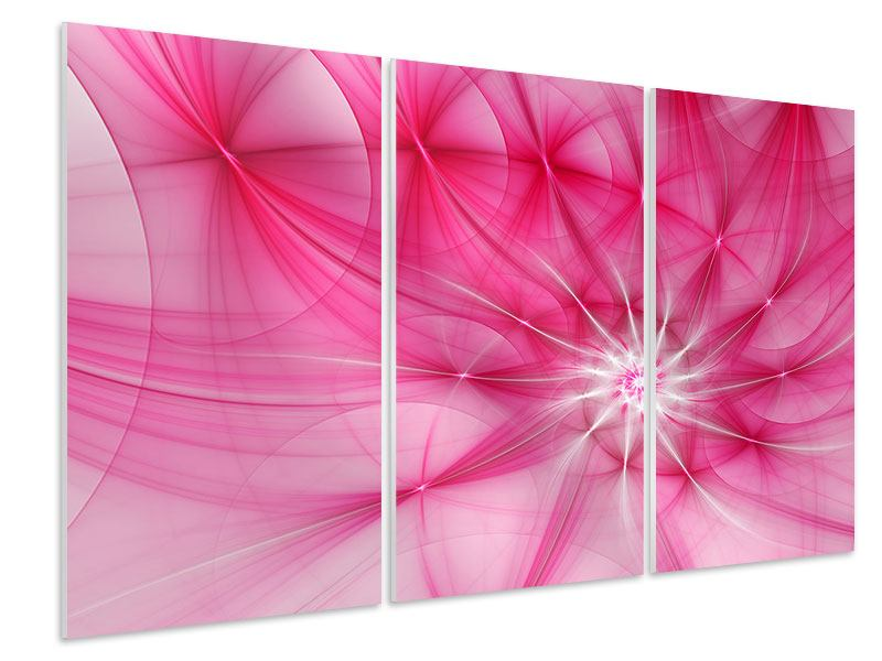 Hartschaumbild 3-teilig Abstrakt Daylight