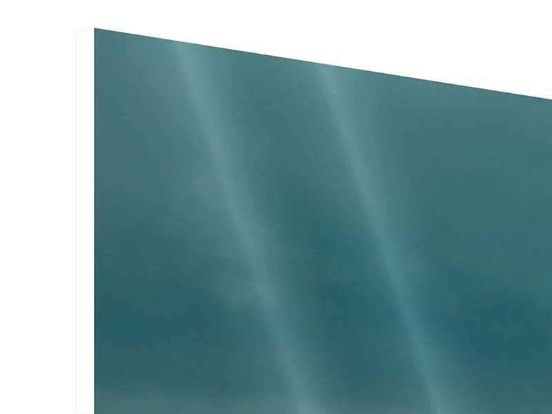 Hartschaumbild 3-teilig Ozean