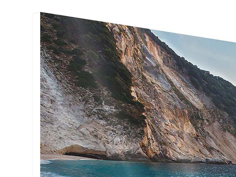 Panorama Hartschaumbild 3-teilig Felsen