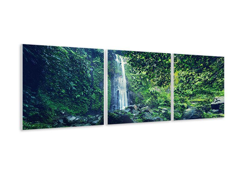 Panorama Hartschaumbild 3-teilig Natur