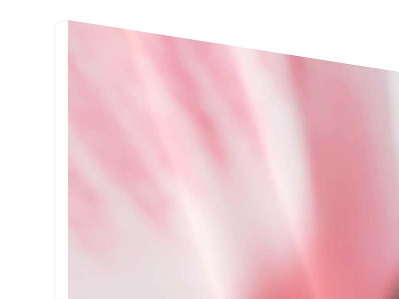 Panorama Hartschaumbild 3-teilig Der Lilienstempel