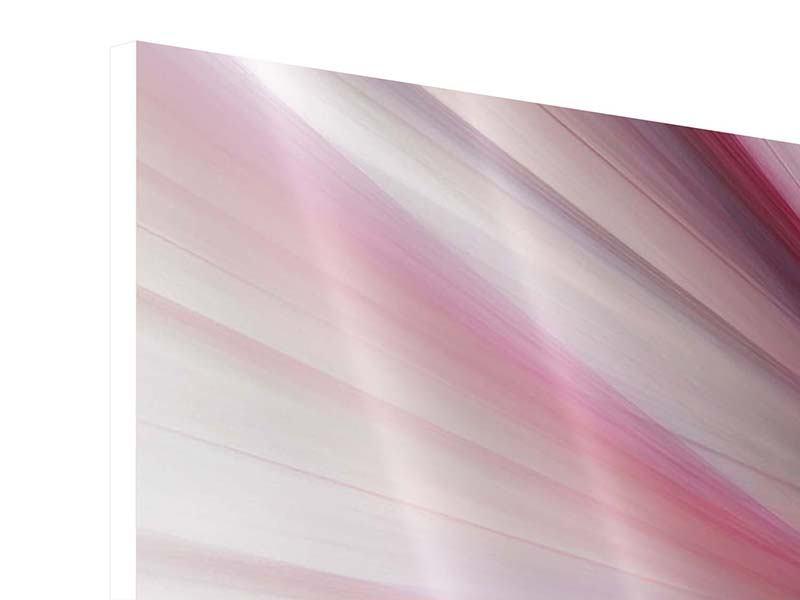 Panorama Hartschaumbild 3-teilig Abstraktes Lichterleuchten