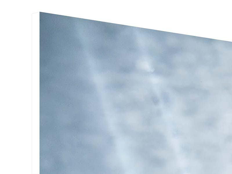 Panorama Hartschaumbild 3-teilig Wasserdynamik
