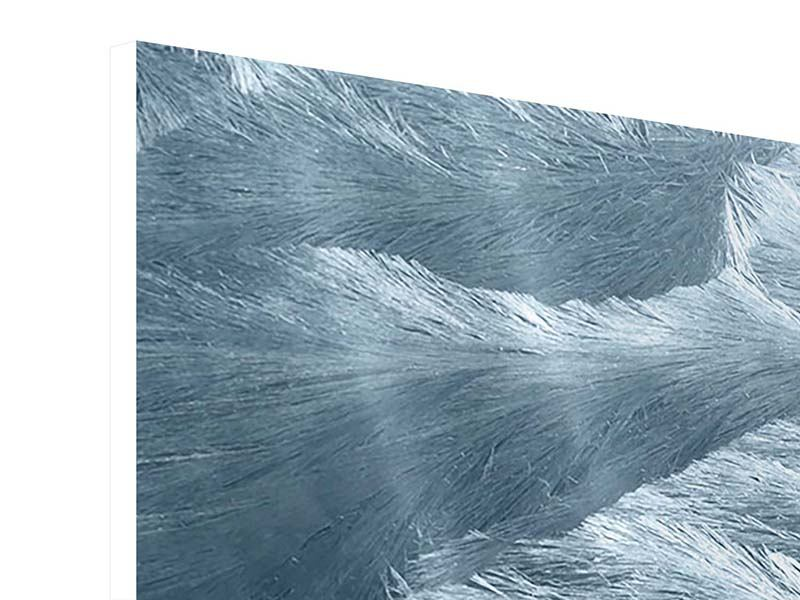 Panorama Hartschaumbild 3-teilig Eis