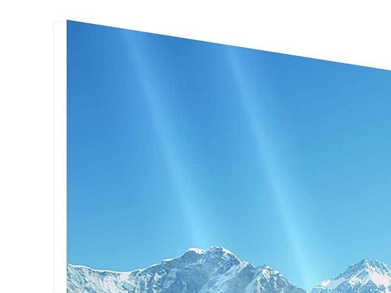 Panorama Hartschaumbild 3-teilig Das Himalaya-Gebirge