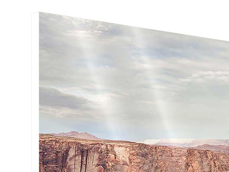 Panorama Hartschaumbild 3-teilig Horseshoe Bend