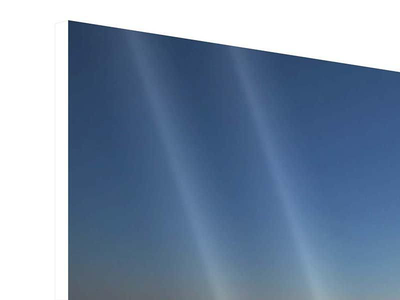 Panorama Hartschaumbild 3-teilig Privatstrand