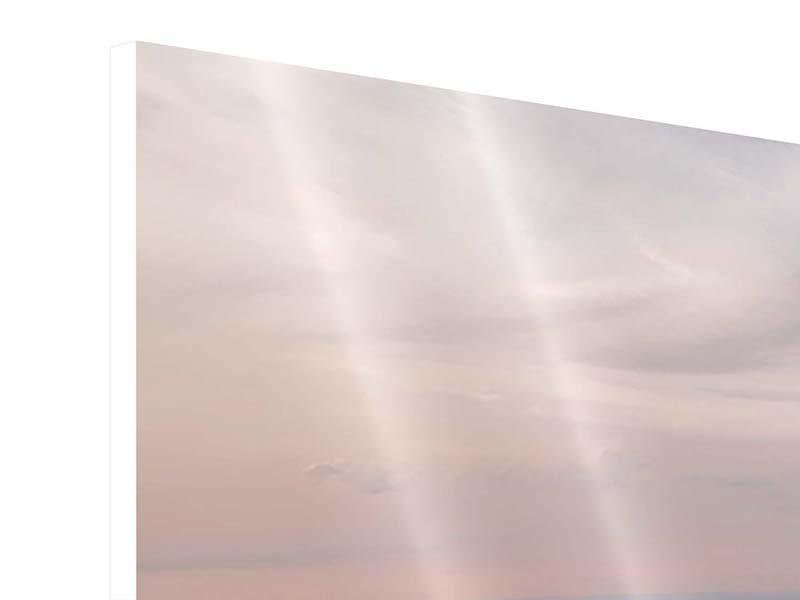 Panorama Hartschaumbild 3-teilig Skyline Blick über Manhattan
