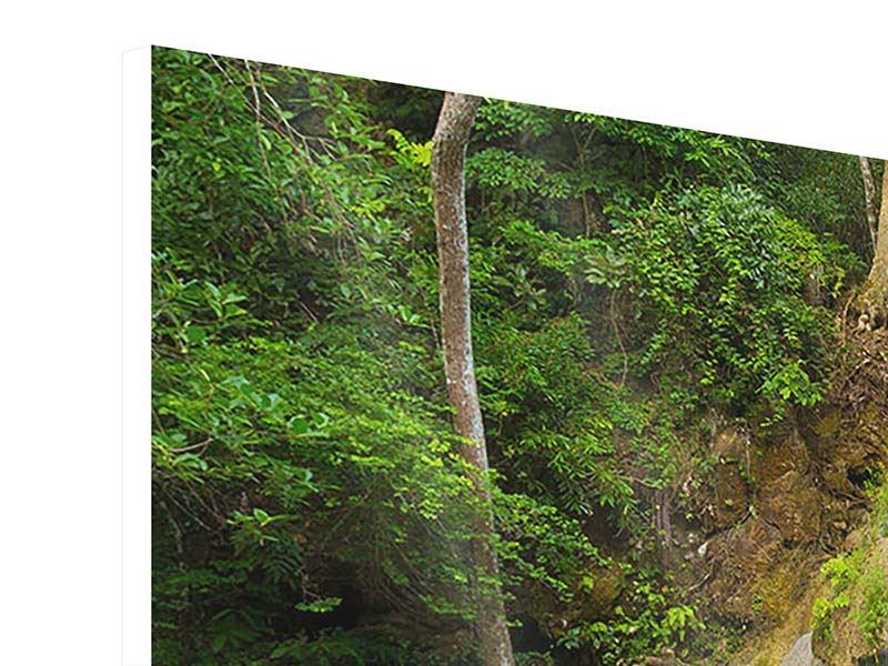 Panorama Hartschaumbild 3-teilig Frische Brise