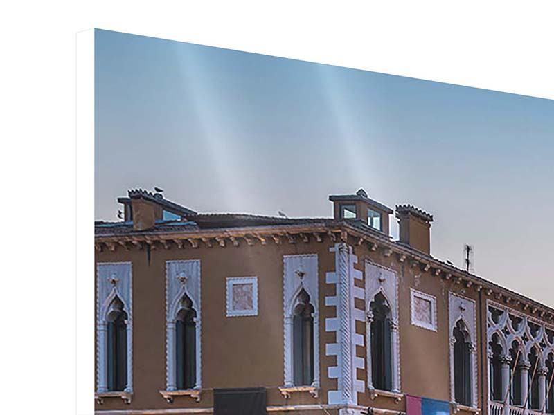 Panorama Hartschaumbild 3-teilig Romantisches Venedig