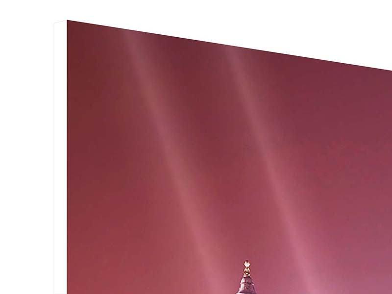 Hartschaumbild 3-teilig modern Millennium Bridge