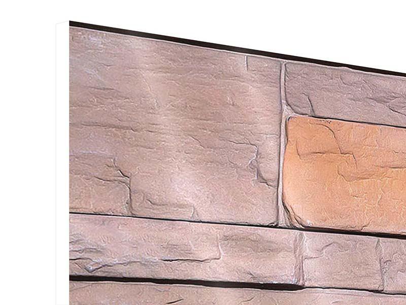Hartschaumbild 3-teilig modern Wall
