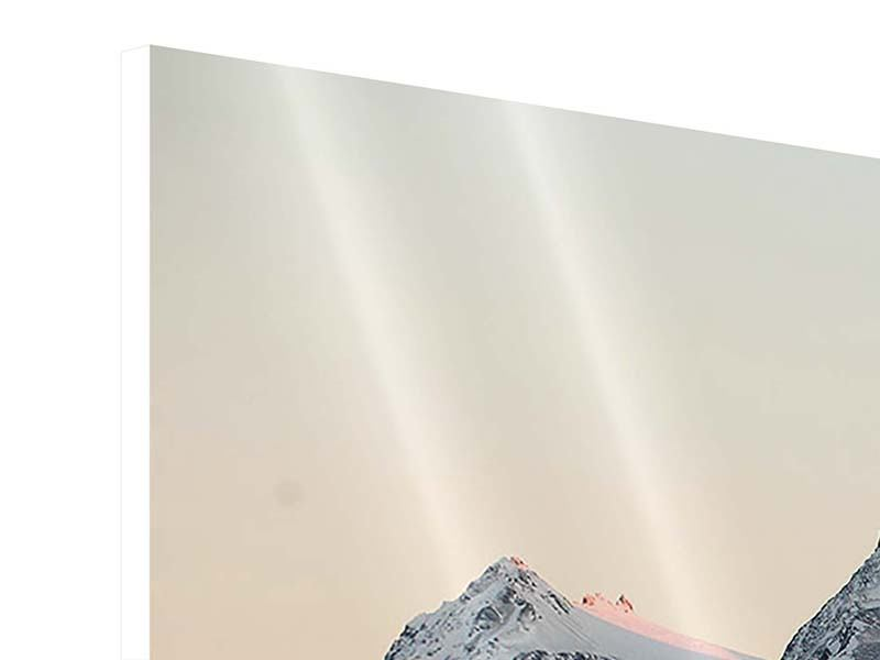 Hartschaumbild 3-teilig modern Die Antarktis
