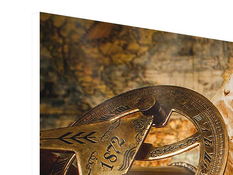 Modern 3 Piece Forex Print Treasure Hunt