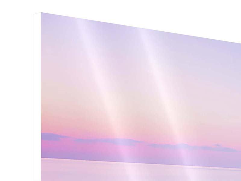 Hartschaumbild 3-teilig modern Unendlicher Ozean