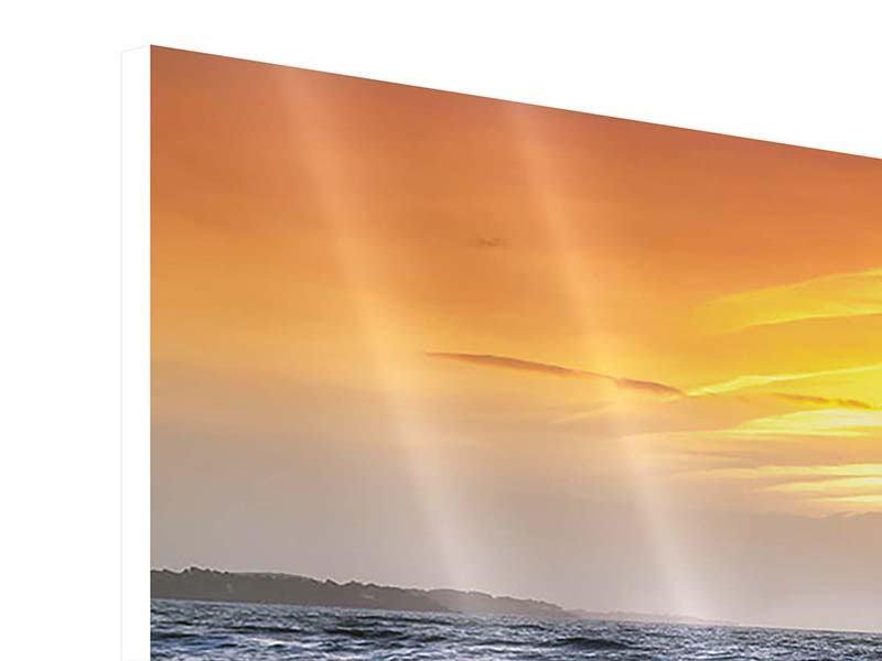 Hartschaumbild 3-teilig modern Das Meer