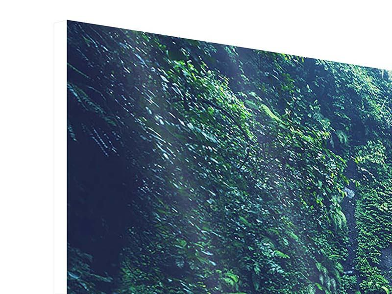 Hartschaumbild 4-teilig modern Natur