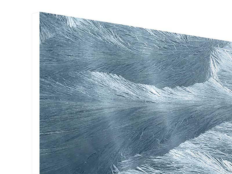 Hartschaumbild 4-teilig modern Eis