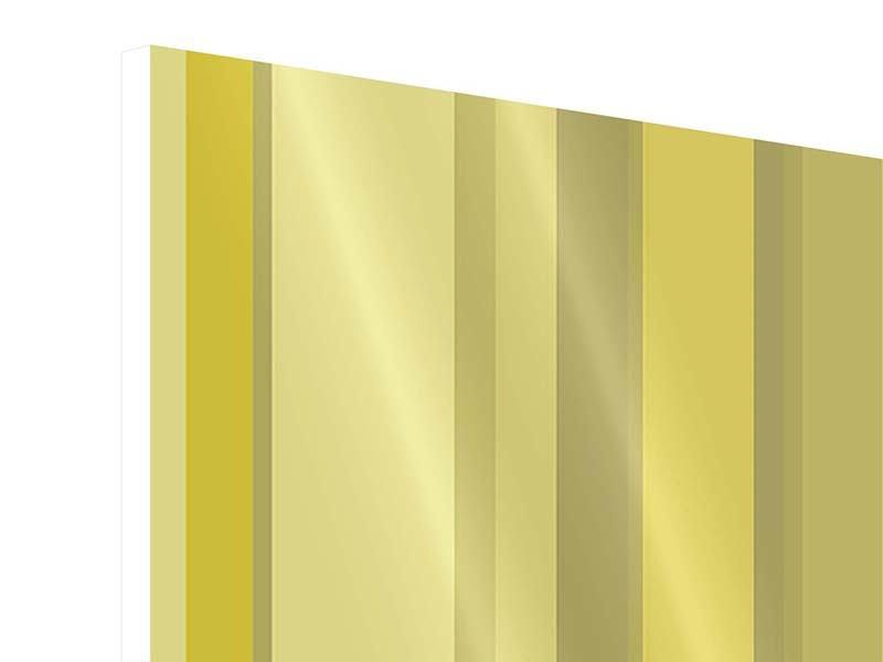 Hartschaumbild 4-teilig Streifen