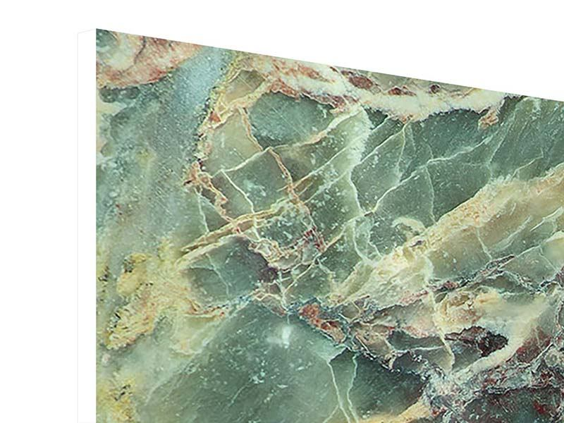 Hartschaumbild 4-teilig Marmor