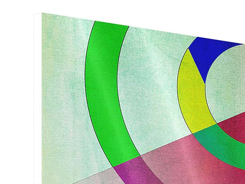 Hartschaumbild 4-teilig Wandkunst